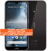 "nokia 4.2 3gb 32gb octa-core 13mp fingerprint id 5.71"" android smartphone black"