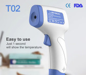 non contact thermometer body temperature bigscreen backlight forehead fever tool