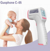 Non Contact infrared thermometer big screen backlight forehead fever digital