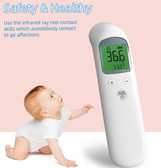 non contact infrared thermometer bigscreen backlight temperature digital measure