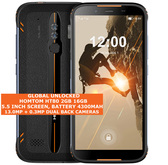 "homtom ht80 2gb 16gb waterproof 13mp fingerprint 5.5"" android smartphone orange"