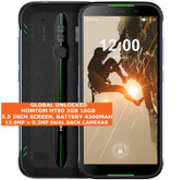 "homtom ht80 2gb 16gb waterproof 13mp fingerprint 5.5"" android smartphone green"