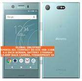 sony xperia xz1 compact so-02k 4gb 32gb docomo unlocked japan version lte blue