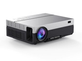 everycom t26l portable 5500 lumens hdmi beamer led home theater projector silver