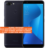 "asus zenfone max plus(m1) 4gb 64gb octa-core 16mp fingerprint 5.7"" android black"