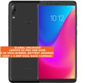 "lenovo k5 pro 4gb 64gb octa core 16mp fingerprint 5.99"" android smartphone black"