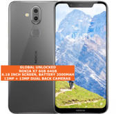 nokia x7 6gb 64gb sdm710 snapdragon 710 dual sim cards 12mp android silver