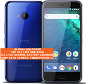 htc u11 life 3gb 32gb sdm630 snapdragon 630 16mp camera 5.2 android lte blue