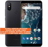 "xiaomi mi a2 mi 6x 6gb 128gb 20mp fingerprint 5.99"" android lte 4g black"