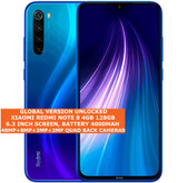 "xiaomi redmi note 8 4gb 128gb octa core 48mp face id 6.3"" android 10 lte blue"