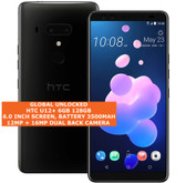 "htc u12+ 6gb 128gb octa-core 16mp fingerprint 6.0"" dual sim android 4g lte black"
