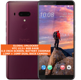 "htc u12+ 6gb 64gb octa-core 16mp fingerprint 6.0"" dual sim android 4g lte red"