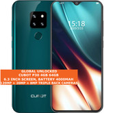 """cubot p30 4gb 64gb octa-core 20mp face id dual sim 6.3"""" android smartphone green"""