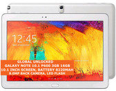 "samsung galaxy note 10.1 p600 3gb 16gb quad-core 8.0mp 10.1"" wi-fi android white"