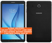 samsung galaxy tab e 8.0 t377 16gb quad-core 5.0mp 8.0inch wifi 4g android black