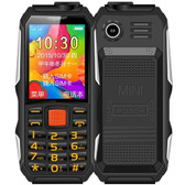 haiyu h1 1.8 inch waterproof shockproof dustproof camera dual sim 2g phone black