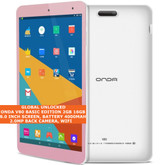 onda v80 tablet 16gb android 7 allwinner a64 quad core 1.3ghz up-128gb tf pink