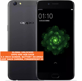 "oppo r9s 4gb 64gb octa-core 16mp fingerprint id 5.5"" android lte smartphone black"