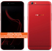 "oppo r9s 4gb 64gb octa-core 16mp fingerprint id 5.5"" android lte smartphone red"