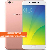 "oppo r9s 4gb 64gb octa-core 16mp fingerprint id 5.5"" android smartphone rose gold"