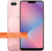"oppo a3s 3gb 32gb octa-core 13mp camera 6.2"" dual sim android smartphone pink"