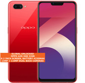 "oppo a3s 3gb 32gb octa-core 13mp camera 6.2"" dual sim android smartphone red"