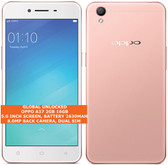 "oppo a37 2gb 16gb quad-core 8.0mp 5.0"" dual sim android 4g smartphone rose gold"