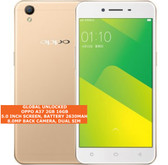 "oppo a37 2gb 16gb quad-core 8.0mp camera 5.0"" dual sim android smartphone gold"