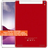 tablet pc 10.1 inch 6gb 128gb octa-core 13mp dual sim android 8.0 tablet red