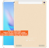 tablet pc 10.1 inch 6gb 128gb octa-core 13mp dual sim android 8.0 tablet gold