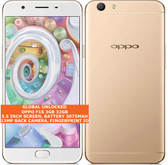 "oppo f1s 3gb 32gb octa-core 13mp fingerprint 5.5"" dual sim android lte gold"
