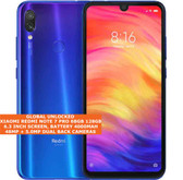"xiaomi redmi note 7 pro 6gb 128gb octa-core 48mp fingerprint 6.3"" android blue"