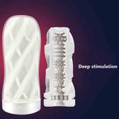 male masturbation cup vagina adult endurance exercise soft pussy vacuum toy deep