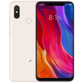 "xiaomi mi 8 6gb 128gb octa-core 12mp fingerprint 6.21"" android smartphone gold"