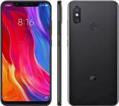 "xiaomi mi 8 6gb 128gb octa-core 12mp fingerprint 6.21"" android smartphone black"