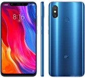 "xiaomi mi 8 6gb 64gb octa-core 12mp fingerprint 6.21"" android smartphone blue"