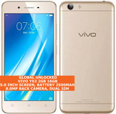 "vivo y53 16gb snapdragon 425 quad-core 8.0mp dual sim 5.0"" android 4g lte gold"