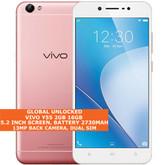 "vivo y55 2gb 16gb quad-core 13mp camera dual sim 5.2"" android smartphone pink"