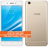"vivo y55 2gb 16gb quad-core 13mp camera dual sim 5.2"" android smartphone gold"