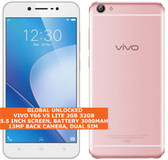 "vivo y66 v5 lite 3gb 32gb octa core 13mp dualsim 5.5"" android 4g smartphone pink"
