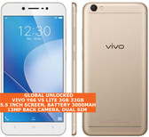"vivo y66 v5 lite 3gb 32gb octa core 13mp dualsim 5.5"" android 4g smartphone gold"