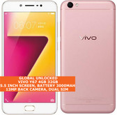 vivo y67 4gb 32gb octa-core 13mp fingerprint dualsim 5.5 android smartphone pink