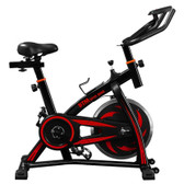 indoor sports bike home fitness data monitoring resistance ship from uk red