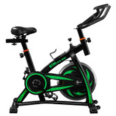 indoor sports bike home fitness data monitoring resistance ship from uk green