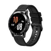 "blackview x1 waterproof tpu strap 1.3"" heartrate sleep monitor smartwatch black"