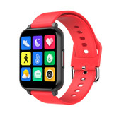 "t82 smart watch heart rate blood pressure 1.55"" sports fitness smartwatch red"
