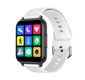 "t82 smart watch heart rate blood pressure 1.55"" sports fitness smartwatch white"