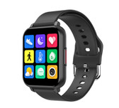 "t82 smart watch heart rate blood pressure 1.55"" sports fitness smartwatch black"