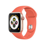 "x7 smart watch music bluetooth call 1.54"" display heart rate blood pressure orange"
