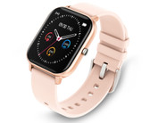 p8 smart watch waterproof heartrate sleep monitor reminder ios android rose gold